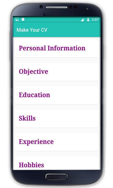 CV maker (Resume maker) APK Download - Free Education APP for ...
