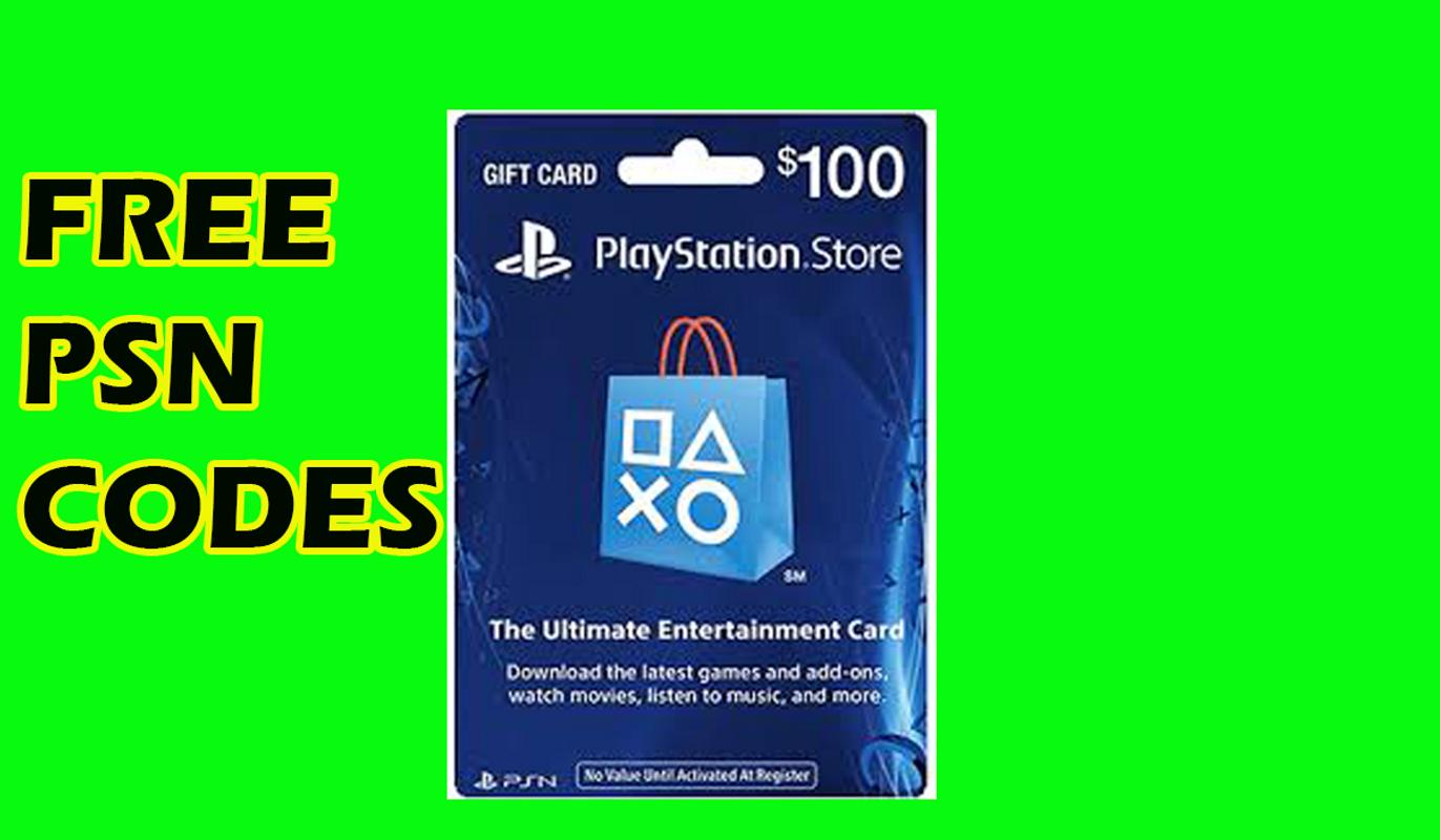 Free psn gift codes fresh download working free psn code generator.