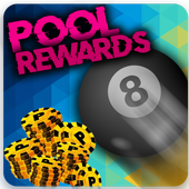Free coins - Pool Instant Rewards for eight ball icon