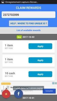 Free coins - Pool Instant Rewards for eight ball apk screenshot