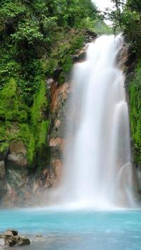 free waterfalls wallpapers poster