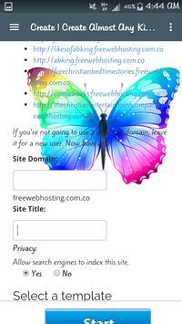 Free Webhosting.com.co apk screenshot