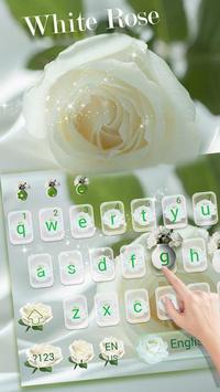 Love Rose Theme for Magic Touch Keyboard screenshot 1