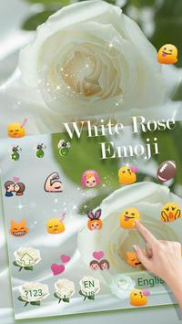 Love Rose Theme for Magic Touch Keyboard screenshot 2