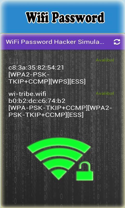 WiFi Password Hacker Simulator APK Download - Free Tools ...