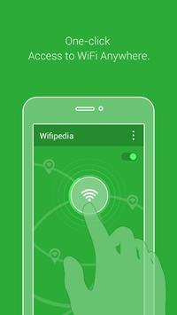 Wifipedia - Free wifi hotspots poster