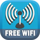 Free Wifi Connection Anywhere & WiFi Map Analyze icon