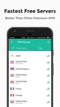 Turbo VPN - USA screenshot 2