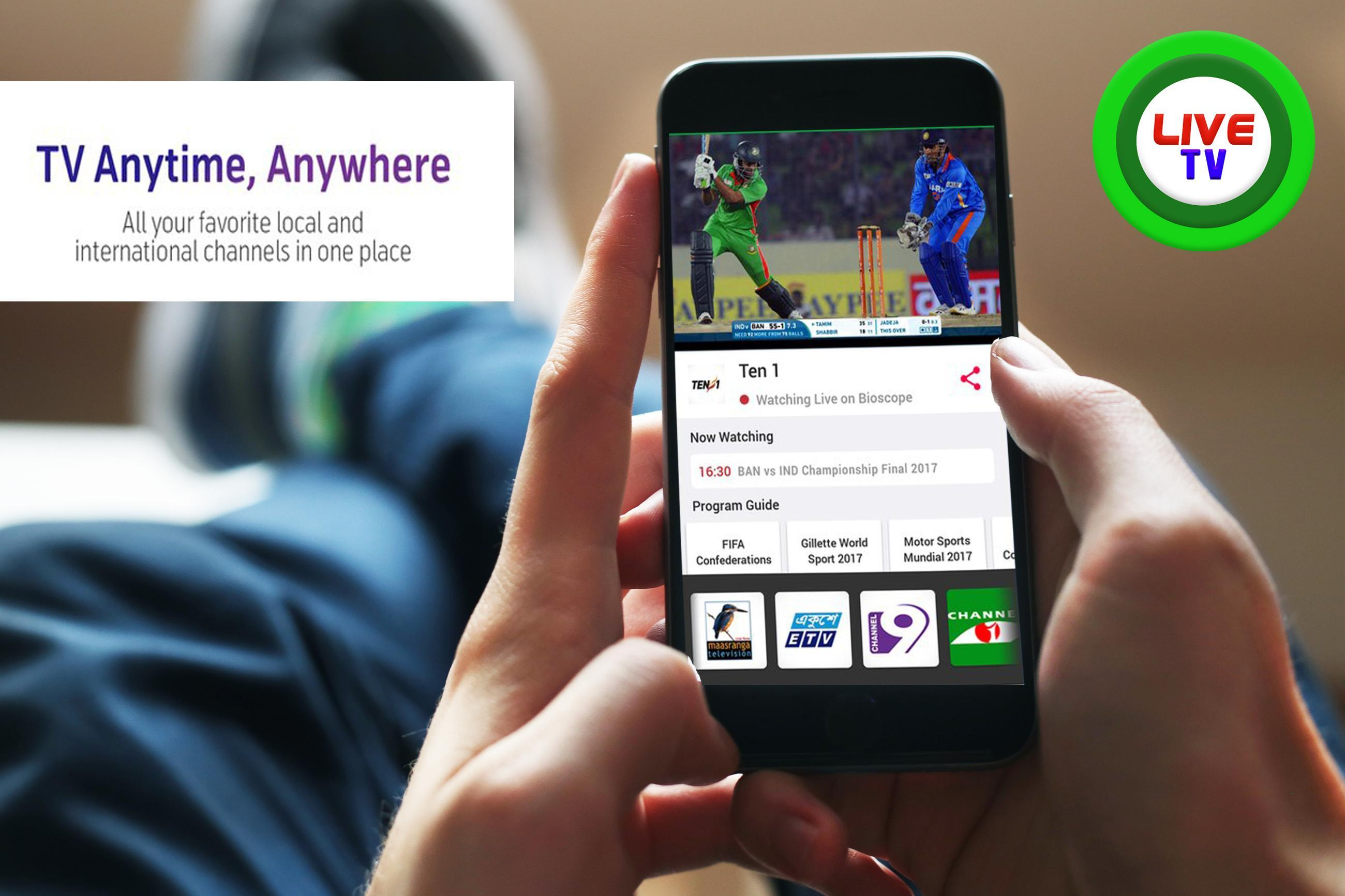 Free Bioscope Live TV Tips for Android - APK Download