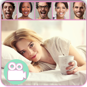 Free video chatter online face to face icon