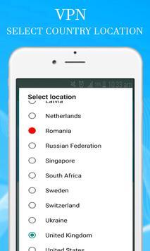 Free VPN Security & Unblock Websites apk screenshot