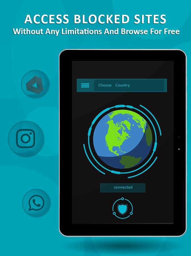 VPN Private Proxy - Free Hotspot Security for Android - APK