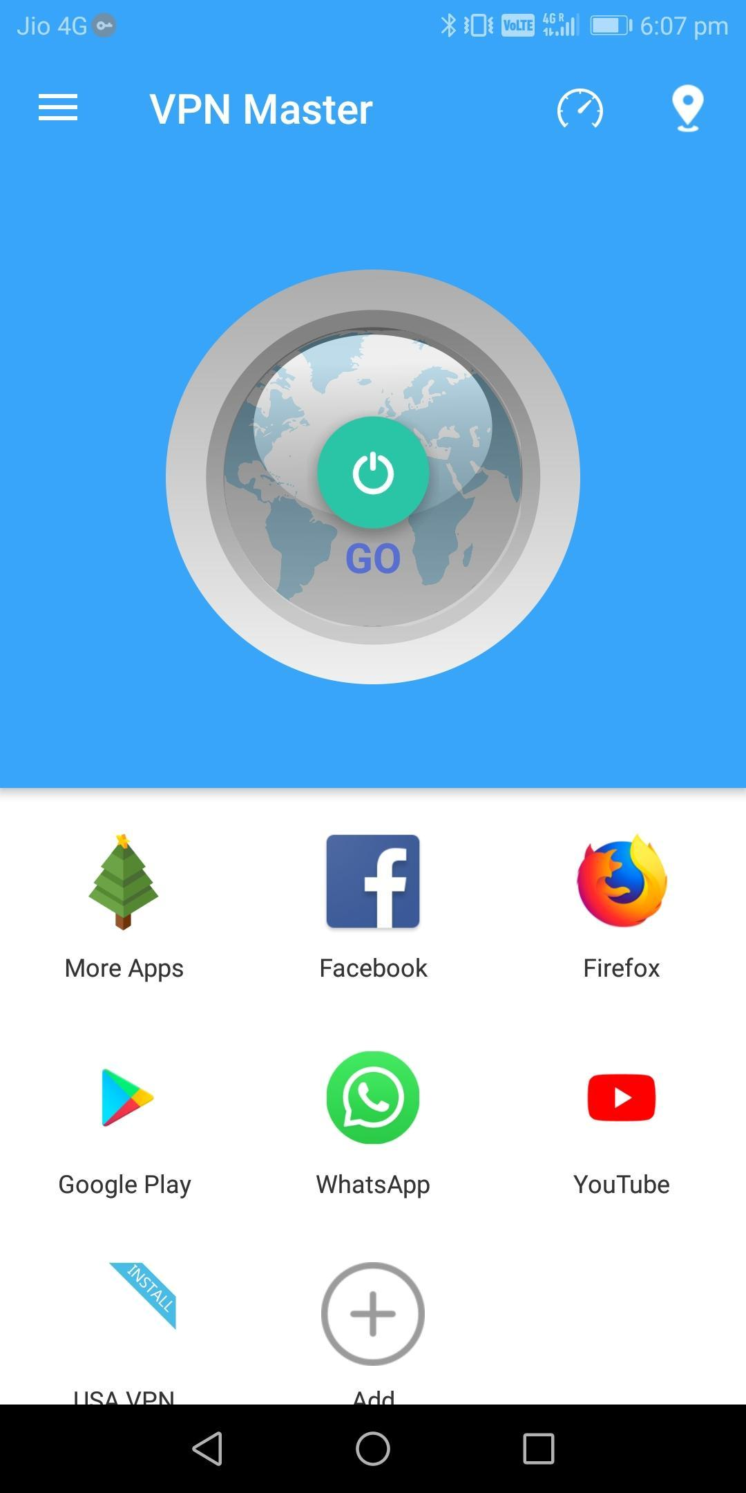Go VPN - Unlimited Security & Unblock Wifi Proxy cho Android - Tải
