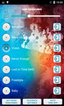 Rap Ringtones screenshot 3