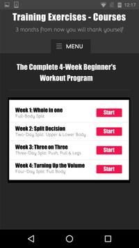 Training Exercises - Courses screenshot 3
