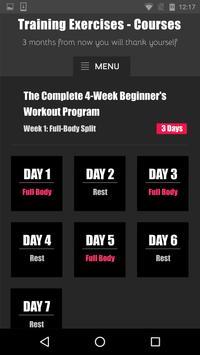 Training Exercises - Courses screenshot 4