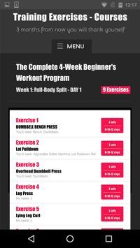 Training Exercises - Courses screenshot 5