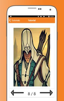 How to Draw Assassins Creed Characters screenshot 4
