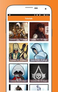 How to Draw Assassins Creed Characters screenshot 5