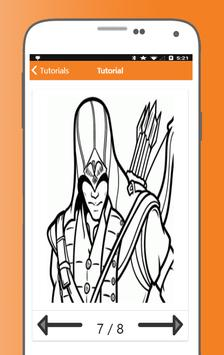 How to Draw Assassins Creed Characters screenshot 8
