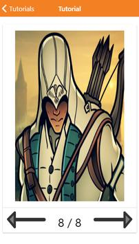 How to Draw Assassins Creed Characters screenshot 9