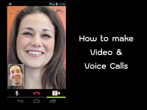 Free Tango Android Calling Tip poster