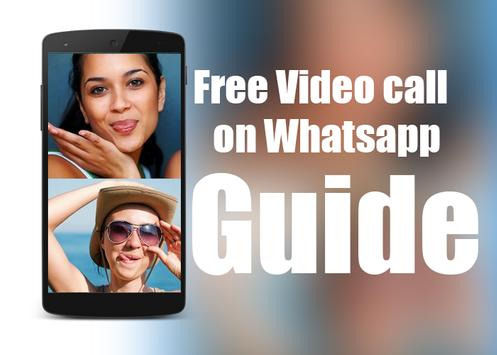 Guide For Whatsapp Video Call poster
