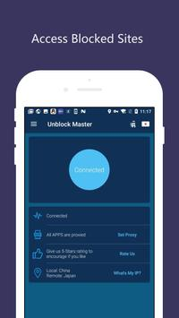 Super VPN Free Proxy ماستر vpn by Unblock Master الملصق