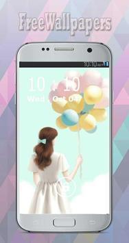 Korean Cute Girly wallpapers Free screenshot 2