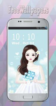 Korean Cute Girly wallpapers Free screenshot 4
