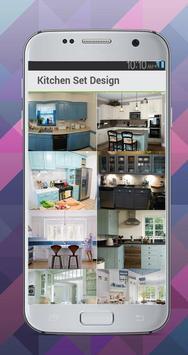 Kitchen Set Design Idea screenshot 1