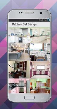 Kitchen Set Design Idea screenshot 2