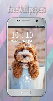 Puppy Wallpapers Free poster