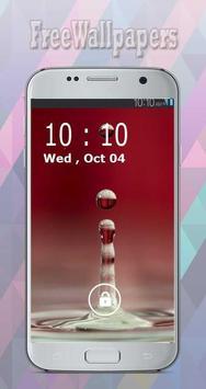 Water Drop Wallpapers Free apk screenshot