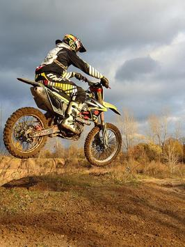 Motocross Bikes Wallpapers poster