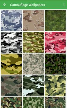 Camouflage Wallpapers poster