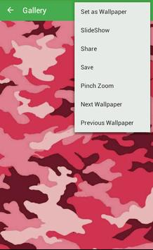 Camouflage Wallpapers apk screenshot