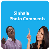 Sinhala Photo Comment icon