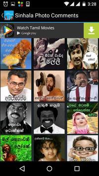 Sinhala Photo Comment apk screenshot