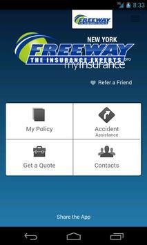 myInsurance - Freeway poster