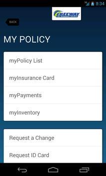 myInsurance - Freeway screenshot 1