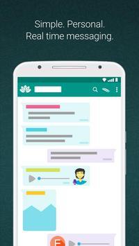 Free Whatsapp Messenger Tips poster