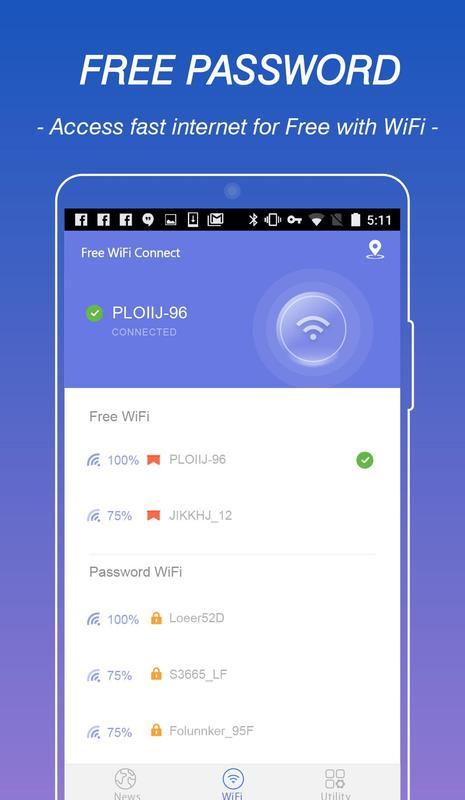 how to connect topublic wifi android