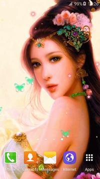 Cute Princess Live Wallpaper apk screenshot