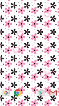 girly patterns live wallpaper apk screenshot