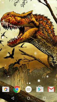 Dinosaur Live Wallpaper apk screenshot