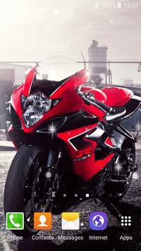 Motorcycle Live Wallpaper screenshot 1