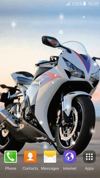 Motorcycle Live Wallpaper screenshot 3