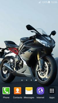 Motorcycle Live Wallpaper screenshot 6