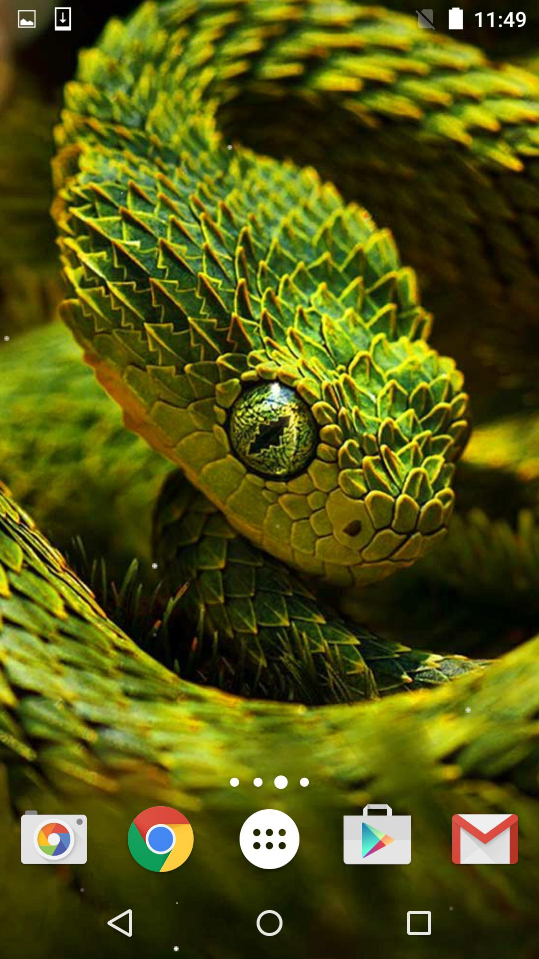 Snake Live Wallpaper HD for Android - APK Download